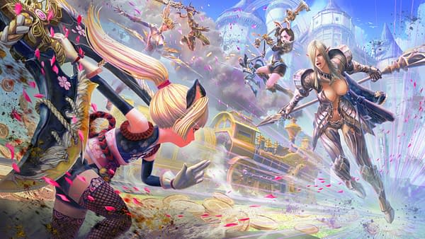 Who will you choose to fight with in TERA Battle Arena, courtesy of Gameforge.