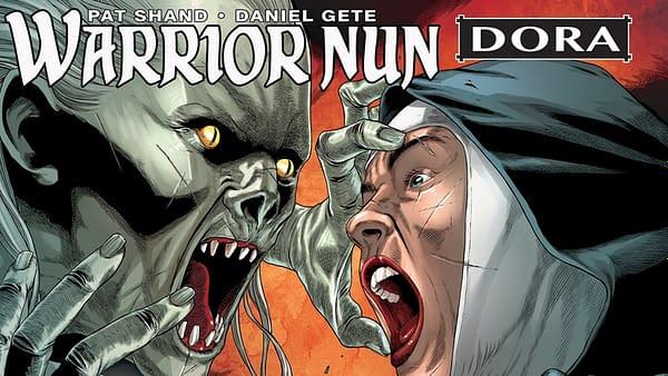 Warrior Nun: Dora Kickstarter promo. Credit: Avatar's Kickstarter.