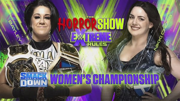 Key art for The Horror Show at Extreme Rules (Image: WWE)