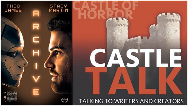Castle Talk Podcast Logo and Archive poster used by permission.