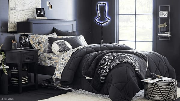 Marvel and Pottery Barn's Black Panther collection. Credit: Marvel.