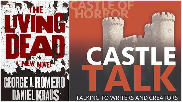 Castle Talk Podcast logo and The Living Dead cover used with permission.