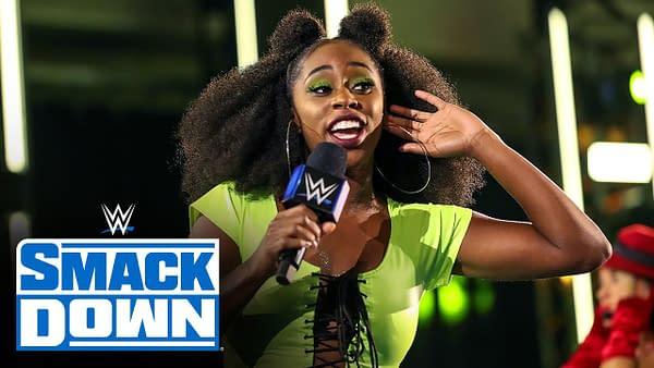 Naomi, Lacey Evans, Dana Brooke and Tamina meet in Karaoke Showdown: SmackDown, July 10, 2020
