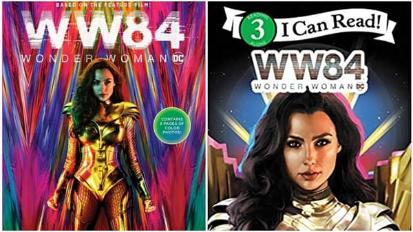 The cover of Wonder Woman 1984: The Junior Novel and Wonder Woman 1984: Meet Wonder Woman (I Can Read Level 3). Credit: Amazon