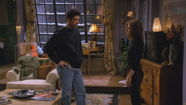 David Schwimmer Picks a Side on Friends'