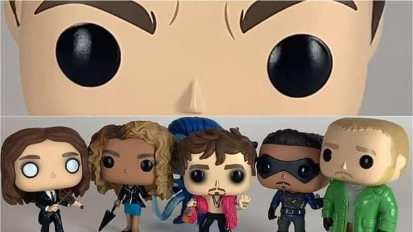 The Umbrella Academy season 1 scenes, as told by Funko POP! vinyl figures (Image: Netflix)