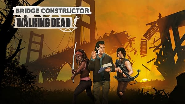 Can you build bridges during the zombie apocalypse? Courtesy of Headup Games.