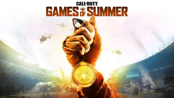 The Call Of Duty Games Of Summer will have you chasing after the gold, courtesy of Activision.