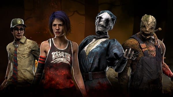 A look at the summer camp designs coming to Dead By Daylight Mobile, courtesy of Behaviour Interactive.