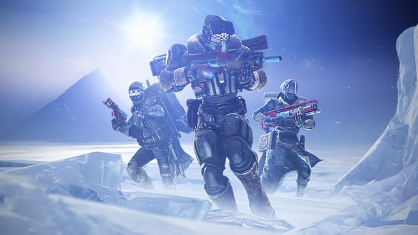What new threats lay within these icy wastelands of Destiny 2: Beyond Light? Courtesy of Bungie.
