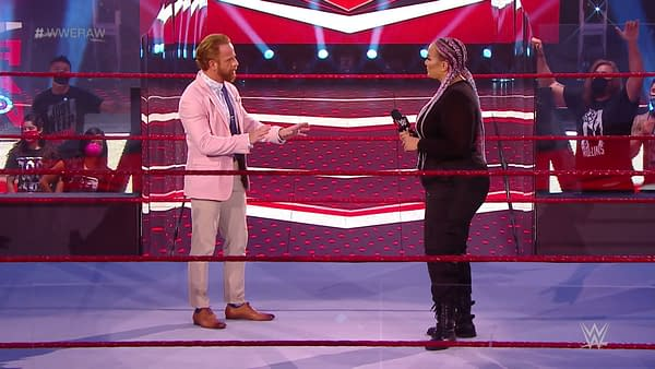WWE Raw 8/3/20 Part 3 - Pat Buck Finally Gets What He Deserves (Image: WWE)