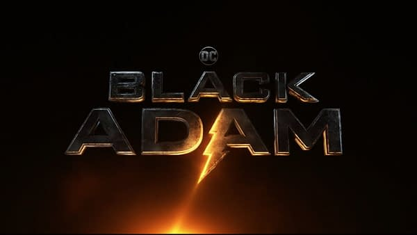 The official logo for Black Adam. Credit: Warner Bros.