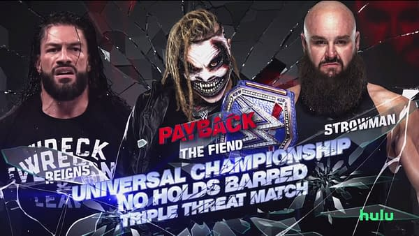 A look at WWE Payback (Image: WWE)