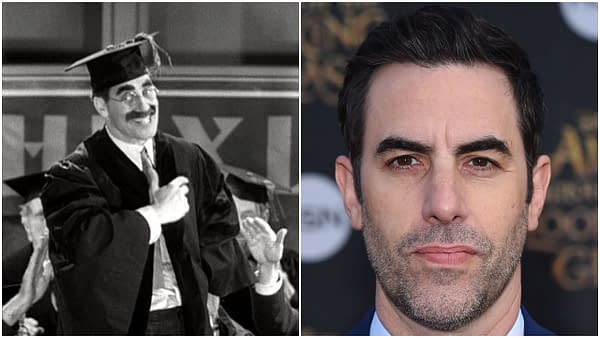 Where's My Biopic: Why Groucho Marx a Perfect for Sacha Baron Cohen