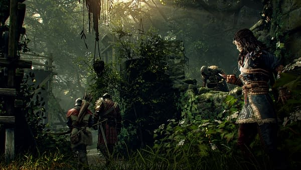 You can always use a Mystic to help you out in Hood: Outlaws & Legends. Courtesy of Focus Home Interactive.