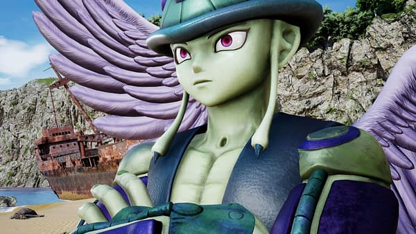 A look at Meruem from Hunter X Hunter as he will appear in Jump Force, courtesy of Bandai Namco.