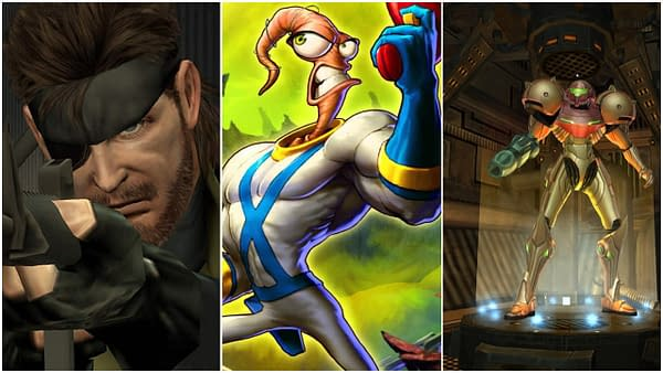 Metal Gear, Earthworm Jim, Metroid, Game IPs Needed on TV Streaming