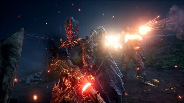 A look at the Technomancer class in action, courtesy of Square Enix.