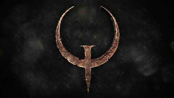 Do you have what it takes to play Quake on an arcade cabinet? Courtesy of Bethesda Softworks.