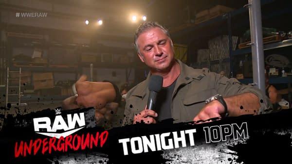 Raw Underground is Shane McMahon's brainchild.