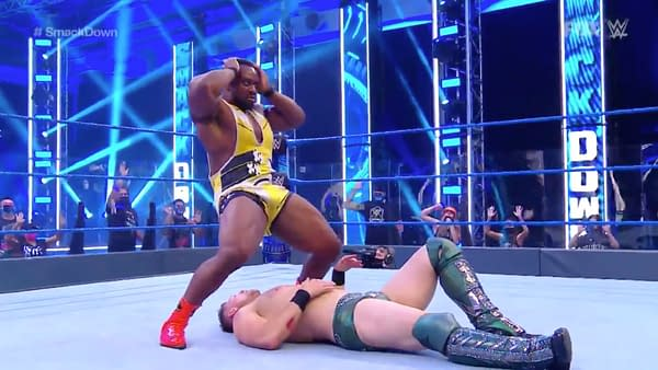 Big E taking his singles push seriously on WWE Smackdown.