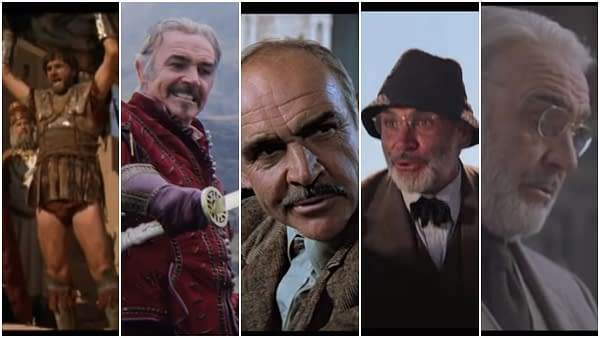 Time Bandits, Highlander, Best Sean Connery Roles Not James Bond
