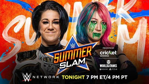 Bayley takes on Asuka at WWE SummerSlam