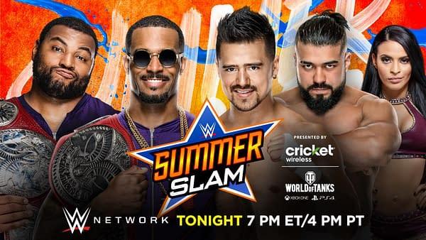 WWE SummerSlam: Bayley vs.