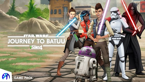 A look at The Sims 4 Star Wars: Journey To Batuu, courtesy of Electronic Arts.
