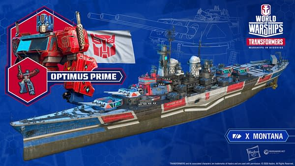 The Transformers Have Come To World Of Warships