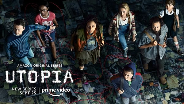 A look at Utopia key art (Image: Amazon Prime)