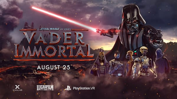 Now you can experience Vader Immortal on the PSVR, courtesy of ILMxLAB.