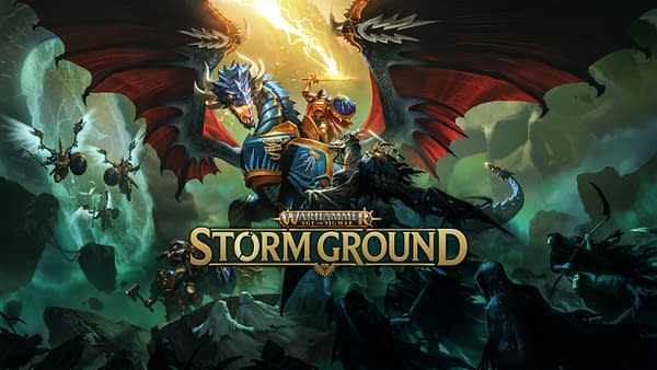 Look at that glorious artwork for Warhammer Age Of Sigmar: Storm Ground. Courtesy of Focus Home Interactive.