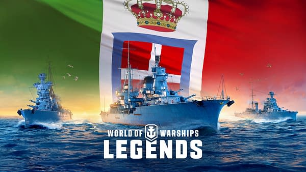 Mamma mia, indeed! The might of the Italian Navy comes to the game, courtesy of Wargaming.