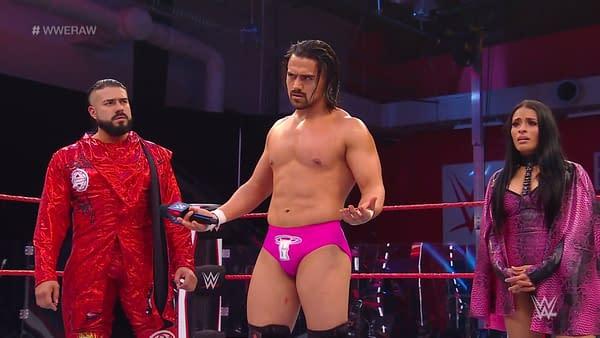 Zelina Vega exposed on WWE Raw.