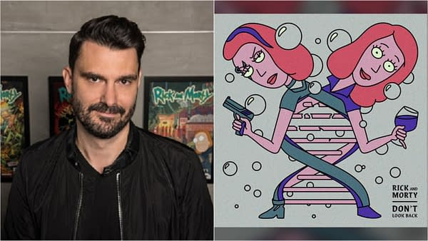 Ryan Elder discusses his work on Rick and Morty, and more (Images: Adult Swim)