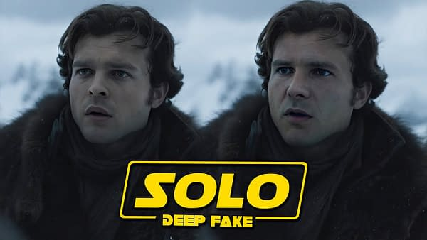 Solo Star Wars Deepfake Swaps Aiden Ehrenreich with Harrison Ford