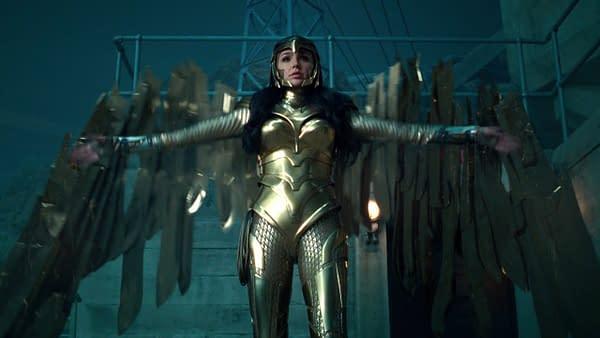 Gal Gadot as Diana Prince in Wonder Woman 1984. Image courtesy of Warner Bros