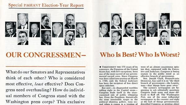The FBI, Comic Pros and the Fake News Controversy of the 1964 Election