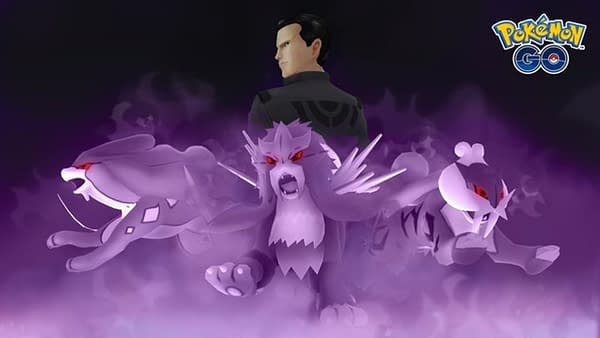 Giovanni is the Team GO Rocket boss. Credit: Niantic.