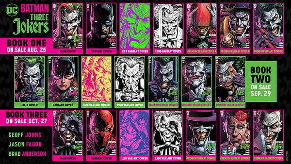 Batman: The Three Jokers #2? Thank FOC It's Friday, 28th August 2020