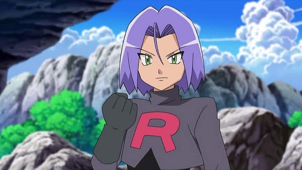 Team Rocket's James and his Pokemon Weezing are now in Pokemon Masters EX.
