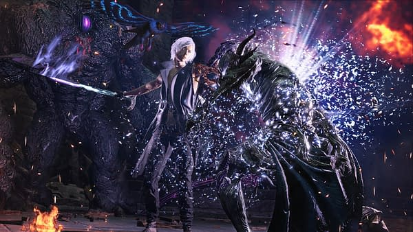 Take up arms with the shiny Yamato as you play as Vergil in Devil May Cry 5 Special Edition.