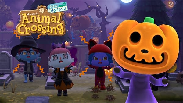 This is Halloween, this is Halloween! Courtesy of Nintendo.