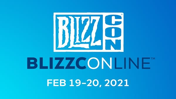 BlizzConline will take place February 19th-20th, 2021. Courtesy of Blizzard Entertainment.