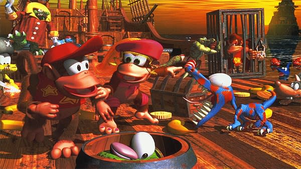 Donkey Kong Country 2 comes to Nintendo Switch Online, courtesy of Nintendo.