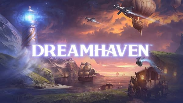 The new logo for Dreamhaven.