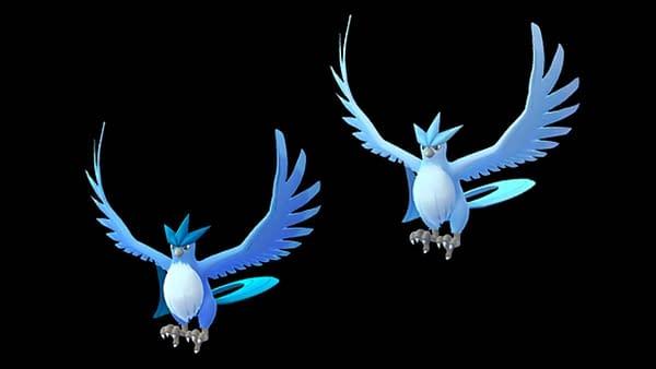 Articuno Raid Guide: Legendary Birds in Pokémon GO. Credit: Niantic