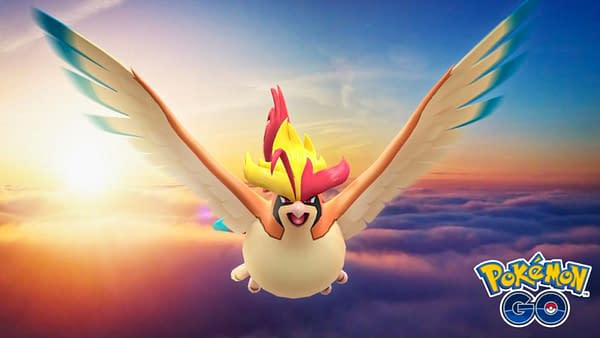 Mega Pidgeot Raid Guide: A New Flying-type Mega Unlocked in Pokémon GO. Credit: Niantic
