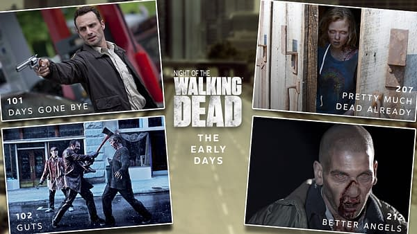 The Walking Dead presents Night of the Walking Dead marathon (Image: AMC)